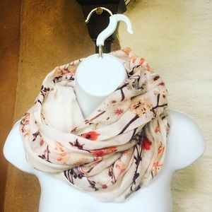 H&M Accessories - H&M wrap infinity flower blossom scarf